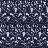 Vecotr seamless pattern with classic ornament Stock Image
