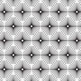 VecStylish för stilfull svartvit monokrom geometrisk grafisk modell svartvit monokrom geometrisk grafisk modell royaltyfri illustrationer