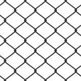 vecteur à chaînes de tige de frontière de sécurité Photographie stock