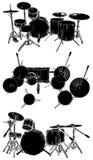 Vecteur 01 de tambours illustration libre de droits