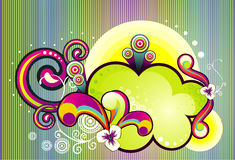 Vecteur abstrait abstrait illustration stock