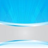 Vecteur abstrait bleu de fond pour l'espace de copie illustration de vecteur
