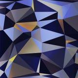 Vecteur abstrait coloré géométrique triangulaire Images stock
