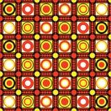 vecteur abstrait de cercles Images libres de droits