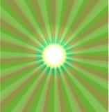 Vecteur abstrait de feu vert Photographie stock