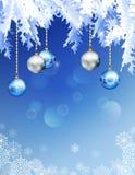 vecteur abstrait de Noël de fond illustration libre de droits