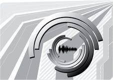 Vecteur abstrait de point de vue Illustration de Vecteur
