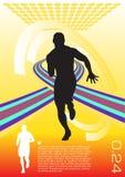vecteur abstrait de sport Photographie stock libre de droits