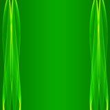 vecteur abstrait de vert de fond Photos libres de droits