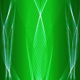 vecteur abstrait de vert de fond Image stock