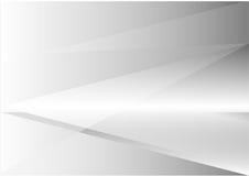 Vecteur abstrait gris de fond de triangle et de ligne droite Photographie stock libre de droits
