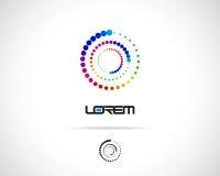 Vecteur abstrait Logo Design Template Photographie stock