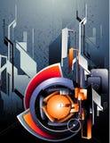 Vecteur abstrait moderne illustration stock
