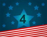 Vecteur américain de fond de Jour de la Déclaration d'Indépendance Photos stock