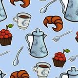 Vecteur anglais de cérémonie de thé Photographie stock