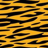 Vecteur animal de papier peint de texture de Tiger Skin Image stock