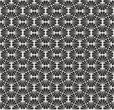 Vecteur Art Deco Seamless Pattern de vintage Texture décorative géométrique Fond floral de vecteur Photographie stock