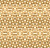 Vecteur Art Deco Seamless Pattern de vintage Texture décorative géométrique Fond floral de vecteur Photographie stock libre de droits