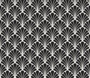 Vecteur Art Deco Style Seamless Pattern floral Fond abstrait d'ornement Illustration Libre de Droits
