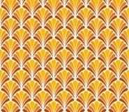 Vecteur Art Deco Style Seamless Pattern floral Fond abstrait d'ornement Illustration Stock
