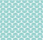 Vecteur Art Nouveau Seamless Pattern floral Texture décorative géométrique de feuilles Rétro fond élégant illustration stock