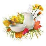 Vecteur Autumn Composition illustration stock