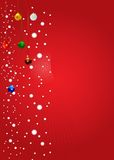 Vecteur Backgr de l'hiver de Noël Photos libres de droits