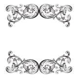 Vecteur baroque classique illustration de vecteur