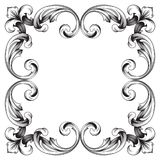 Vecteur baroque classique d'ornement Photographie stock