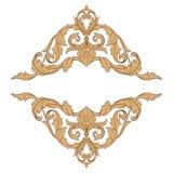 Vecteur baroque classique d'ornement Image stock