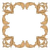 Vecteur baroque classique d'ornement Images stock
