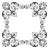 Vecteur baroque classique d'ornement Photos libres de droits