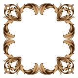 Vecteur baroque classique d'ornement Images libres de droits