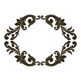 Vecteur baroque classique d'ornement Photo libre de droits