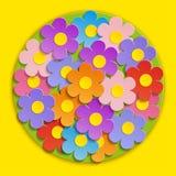 Vecteur - belles fleurs de ressort Images stock