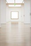 Vecteur blanc d'isolement par chemin moderne d'Art Museum Frame Wall Clipping Image libre de droits