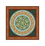 Vecteur Brown islamique Ramadan Ornaments Photographie stock libre de droits