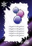 Vecteur. Carte postale de vacances Images libres de droits