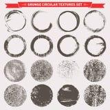 Vecteur circulaire grunge de milieux de texture illustration de vecteur