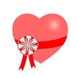 Vecteur, coeur, cadeau Photo libre de droits
