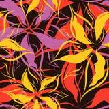 Vecteur. Configuration florale sans joint Photos libres de droits