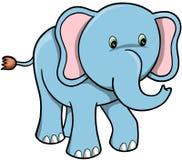 Vecteur d'éléphant Photo libre de droits