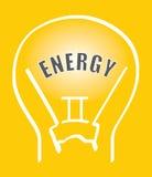 vecteur d'énergie Photo libre de droits
