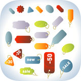 vecteur d'étiquette de vente Image stock