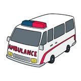 Vecteur d'ambulance illustration libre de droits