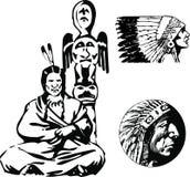 vecteur d'apache Photo libre de droits