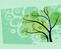 Vecteur d'arbre Images libres de droits