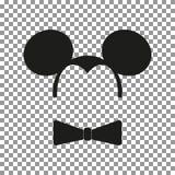 Vecteur d'autocollant de souris illustration stock