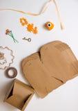 vecteur d'emballage d'illustration de cadeau Image stock