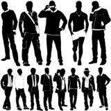 Vecteur d'hommes de mode Images libres de droits